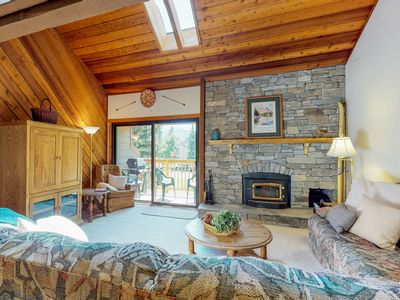 Photo for NEW LISTING! Snowcreek Village townhome with shared hot tubs and more!