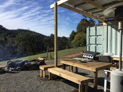 Photo for Off Grid Eco-container/Glamping