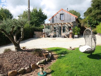Photo for Cozy cottage with SPA, SAUNA 15 min sea and Cherbourg