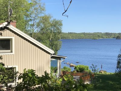 Photo for New: peace and relaxation right on the lake in the countryside!