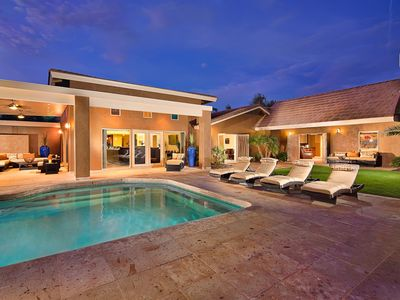Photo for Heated Pool with Spa, Fun Putting Green, Sports Court, Complimentary Concierge