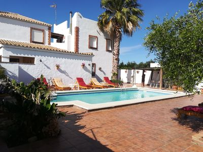 Photo for 3 bedroom holiday home with shared pool