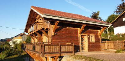 Photo for Luxury chalet - L'Etoile D'or - 400m from the lake - 8 people