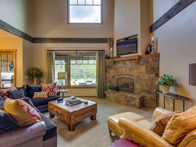 Photo for Beautiful Villa on the Payette River Bend sleeps 10 WIFI, Gym and Spa Access