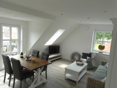 Photo for Upscale holiday apartment in Greetsiel Newly built in 2017 Central | with balcony