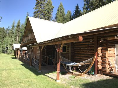 Photo for Large mountain lodge on Seeley Lake with access to endless recreation