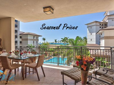 Photo for Gorgeous 3 BR Villa w/3rd flr views of Ocean & Resort~Lovely Inside & Out