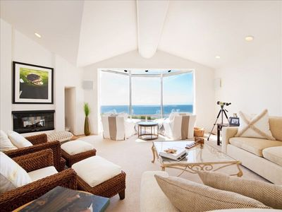 Great whale watching from any seat in this room.