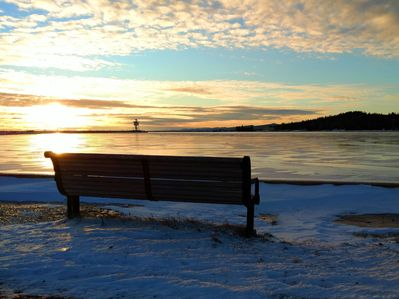 Enjoy the shore of Lake Superior right out the front door!