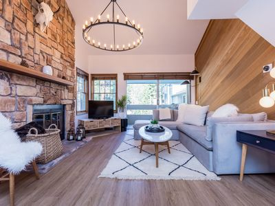 Photo for Sierra Megeve B #14 -Beauty & Comfort 3 BD / 3 BA fully updated. Steps from Canyon Lodge. Sleeps 9