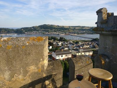 Climb the stone spiral staircase to see the fantastic views from The Tower
