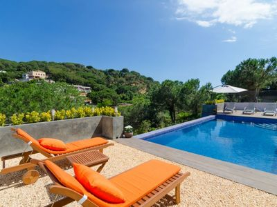 Photo for Club Villamar - This beautiful holiday villa can accommodate 10 people, with private pool and is ...
