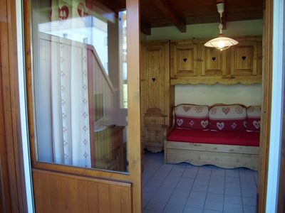 Photo for Nice studio with independent room near ESF, shops.