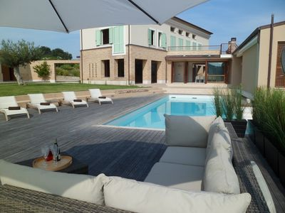 Photo for Villa With Private Land, Private Pool And Panoramic Views, close to the beaches