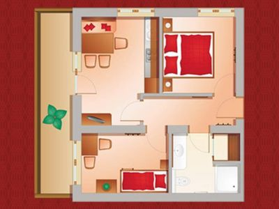 Photo for Apartment Bergkristall 43 m² 2-4 pers. - Alpenhof Apartments
