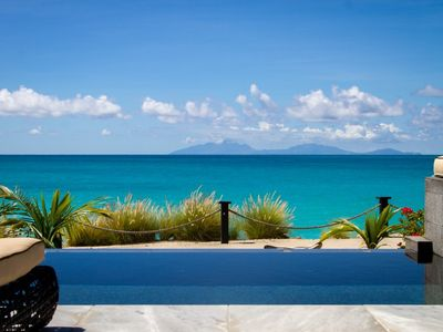 Photo for Gorgeous 3 bedroom beachfront villa in Tamarind Hills - COMPLIMENTARY AIRPORT TRANSFERS