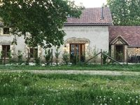 The French Country Cottage , Les Chouttes, is just that except it is warm, cozy and charming too