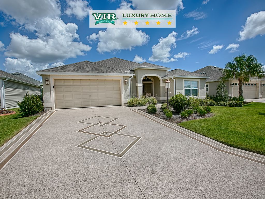 Luxury home with the most popular floor plan in the for The villages gardenia floor plan