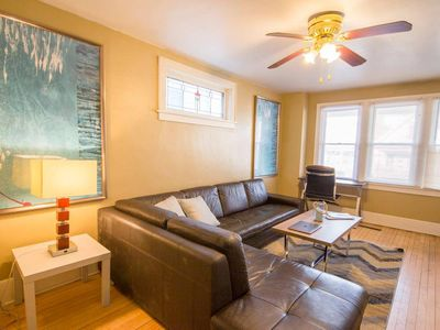 Photo for The Charming and Spacious Brady St Duplex - Sleeps Everyone !