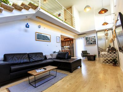 Photo for Two-level Penthouse apartment with indoor pool and panoramic terrace