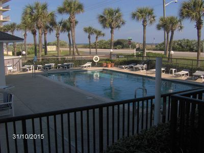 Photo for Beautiful Beachfront Condo, in Ormond by the Sea.