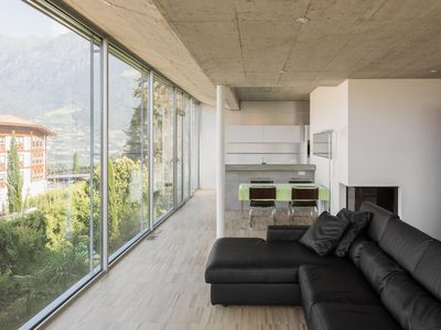Photo for Exclusive, modern apartment with high quality equipment and panoramic views