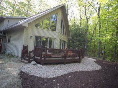 Photo for NEW FOR 2019 , CABIN IN THE WOODS,  A  GREAT FAMILY GETAWAY