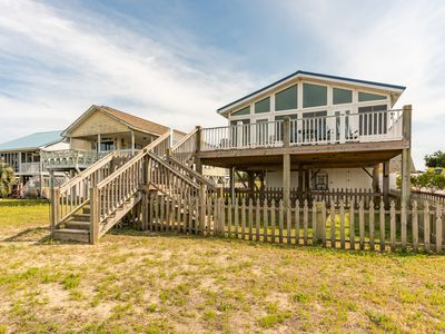 Photo for Here To Stay: 3 BR / 2 BA home in Oak Island, Sleeps 8