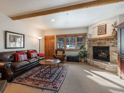 Photo for No Car Needed - Next to Bus Stop! Updated Deer Valley Home w Private Hot Tub, AC & Free Ski Rental!