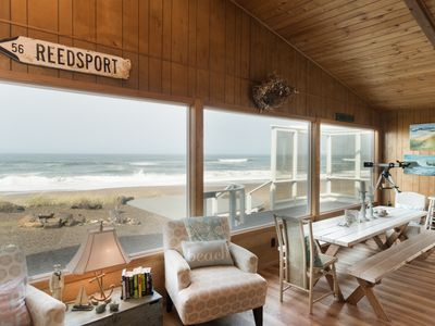 Photo for Amazing oceanfront home located on miles of sandy beach with plenty of room