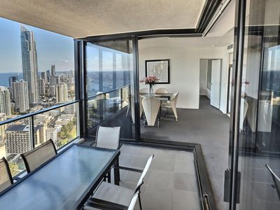 Photo for ⭐New Listing⭐Circle on Cavill Luxury - 2 bedroom with ocean views | pool and gym