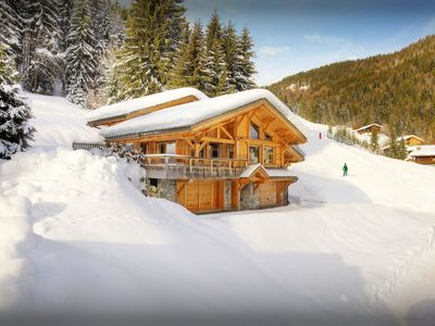 Photo for 5* ski-in ski-out chalet for 8 with sauna and fitness area - OVO Network