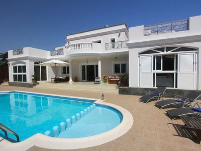 Photo for Villa With Large Private Pool And Views Inland, The Golf Course And To The Sea