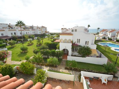 Photo for Beach front House with 4 bedrooms with pool near Sabinillas (Estepona)