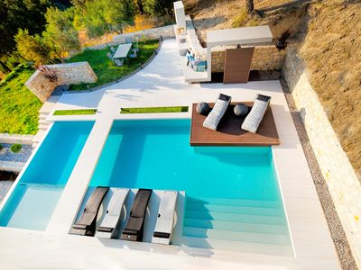Photo for Luxury Villa with 72 sqm Heated Pool surrounded by Nature