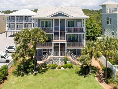 Photo for Seagrove Triplex GULF FRONT-Sleeps 30! Private Pool - Perfect for Weddings