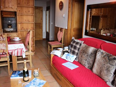 Photo for Chalet 6 Balconies - 2 room flat for 6 people