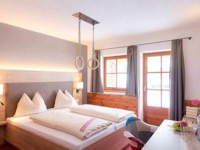 """Photo for Double room """"Classic"""" with shower / bath, WC - Gut Wenghof - Family Resort Werfenweng"""