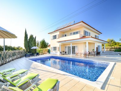 Photo for Spacious, modern villa with private swimming pool and sea view