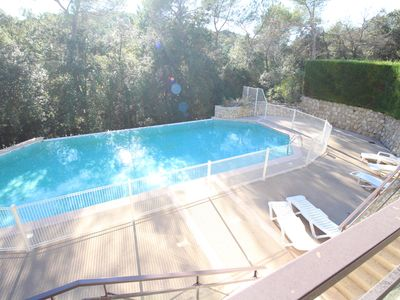 Photo for Beautiful small house of 40m² 2 rooms in Valbonne, very quiet area with pool