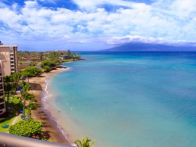 Photo for Sands of Kahana Penthouse Sandy Swimmable Beach Fully Remodeled Incredible View