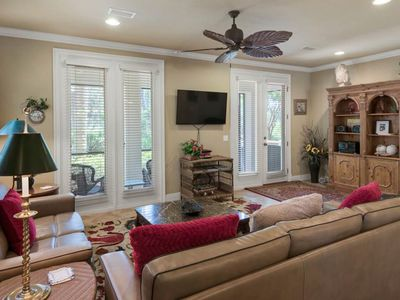 Photo for Large & beautiful home next to beach w/ full kitchen - close to state parks