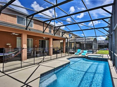 Photo for Huge Family Home w/Pool Near Disney Theme Parks!