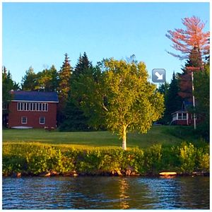 Photo for Prime waterfront spot on Moosehead Lake