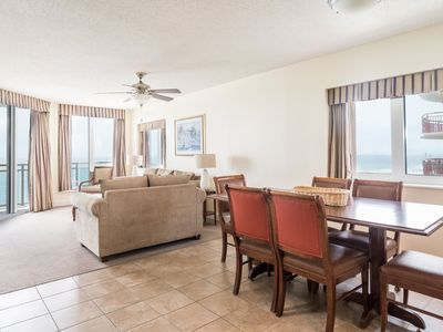 Photo for Bahama Sands -  909 Spacious ocean front 3 bedroom unit with city and ocean views!