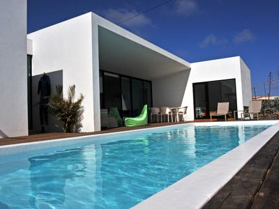 Photo for MALI HOUSE. Luxury home with heated pool in the center of Lajares.