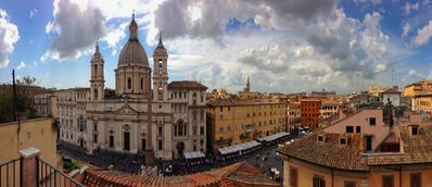 Photo for Loft and terrace in Piazza Navona, already applied Discounts and Special Offers