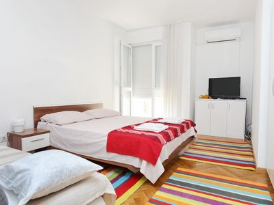Photo for One bedroom apartment with air-conditioning Split (A-13723-a)
