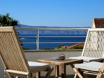Photo for Three bedroom apartment with terrace and sea view Jelsa, Hvar (A-5703-b)