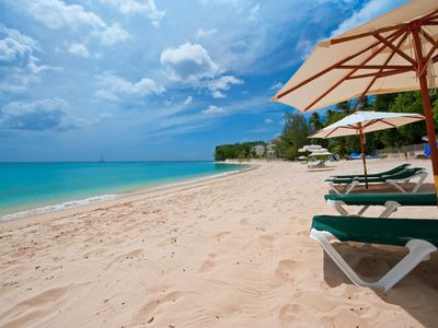 Photo for Coral Cove 3  - Luxury 2 Bedroom Apartment Located On Paynes Bay Beach in Barbados
